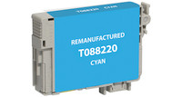 Epson T088220, Remanufactured InkJet Cartridges, Cyan