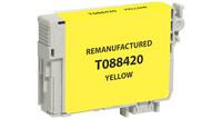 Epson T088420, Remanufactured InkJet Cartridges, Yellow