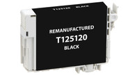 Epson T125120, Remanufactured InkJet Cartridges, Black