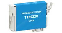Epson T125220, Remanufactured InkJet Cartridges, Cyan