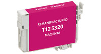 Epson T125320, Remanufactured InkJet Cartridges, Magenta