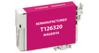 Epson T126320, Remanufactured InkJet Cartridges, Magenta (High Capacity)