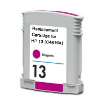 HP 13 Remanufactured InkJet Cartridges, Magenta