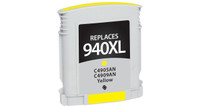 HP 940XL, Remanufactured InkJet Cartridges, Yellow (High Yield)
