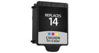 HP 14, Remanufactured InkJet Cartridges, Tri-Color