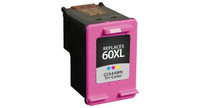 HP 60XL, Remanufactured InkJet Cartridges, Tri-Color (High Yield)