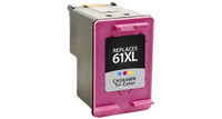 HP 61XL, Remanufactured InkJet Cartridges, Tri-Color (High Yield)