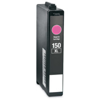 Lexmark 150XL, Remanufactured InkJet Cartridges, Magenta (High Yield)