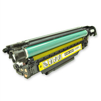 HP Laserjet M551N Remanufactured Toner Cartridge, Yellow