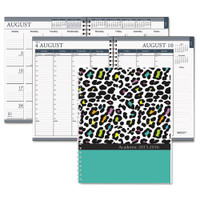 House of Doolittle (HOD295-94) Academic Weekly/ Monthly Planner, Leopard Cover