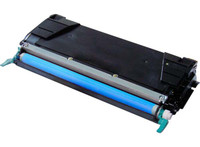 Lexmark C5242CH, Remanufactured Toner Cartridge Cyan