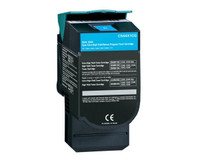 Lexmark C544X1CG, Remanufactured Toner Cartridge Cyan