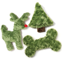 Happy Howlidays Dog Toys Gift Set