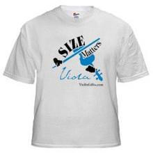 """Size Matters"" Viola t-shirt"