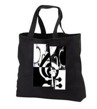 Black Canvas Music Bag, violin art