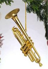 """3.5"""" Trumpet ornament"""