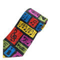 Colorful Music Tie