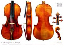 Print, Carlo Bergonzi violin, 1736