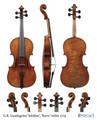 G.B. Guadagnini 1774 'Salabue', 'Berta' violin