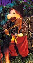 Fiddler Puppet