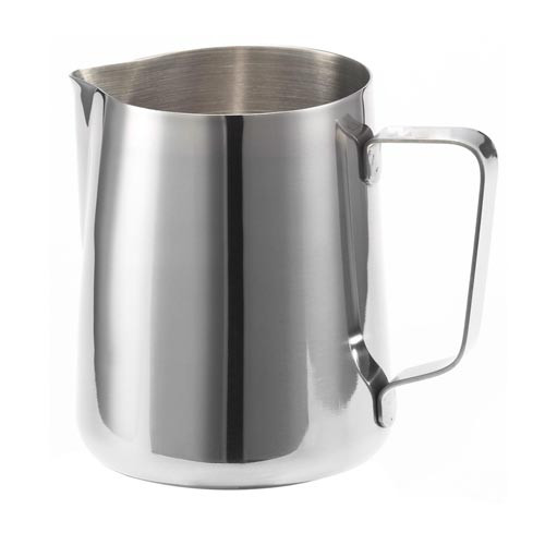 Milk Steaming Jug / Pitcher 350ml Stainless Steel with Spout