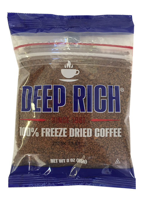 Deep Rich Freeze Dried Instant Coffee