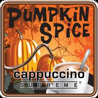 pumpkin spice cappuccino supreme