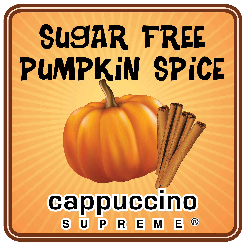 sugar free pumpkin spice cappuccino supreme