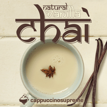 Natural vanilla chai 2 lb bag