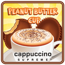 Peanut butter cup instant cappuccino mix from Cappuccino Supreme