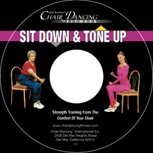 Sit Down & Tone Up on Custom Audio CD
