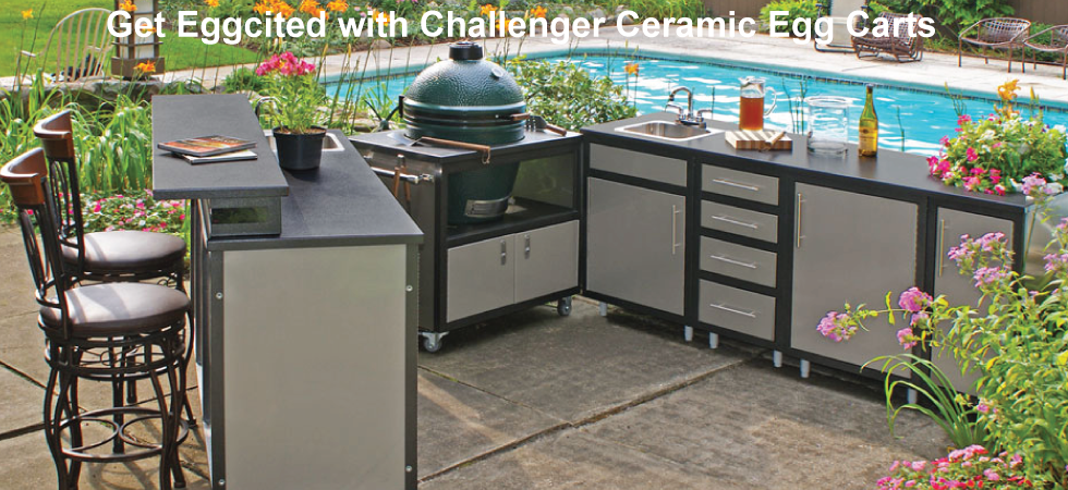 Challenger  Ceramic Egg Carts