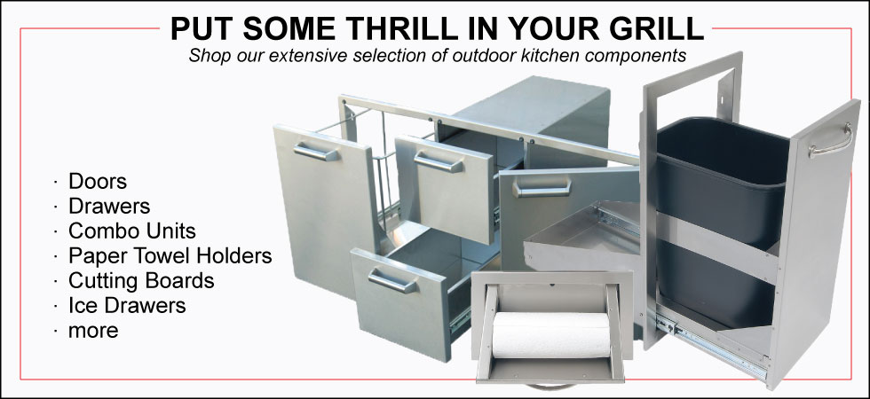 Outdoor Kitchen Accesories