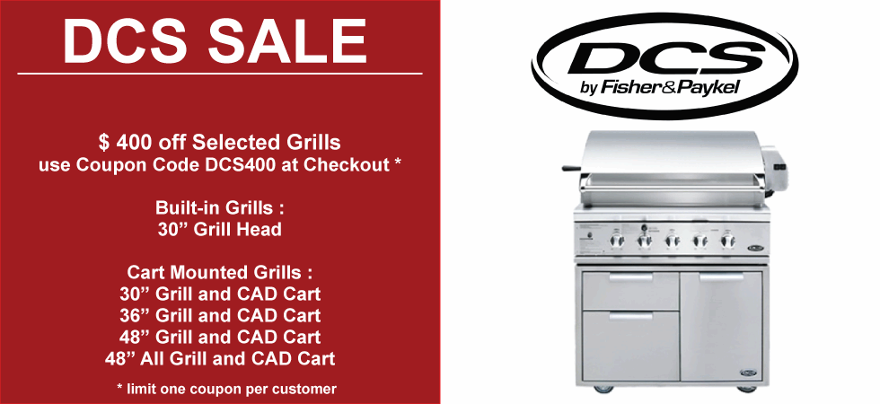 DCS Gas Grill Sale