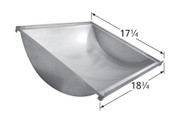 18 3/4 x 17 1/4, Stainless Bottom Trough, Charbroil | 99561