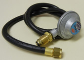 4-ft Hose And Lp Regulator For Kings Kooker With 501 Pol Fitting