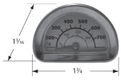 Charbroil, Kenmore Stainless Heat Indicator | 00473