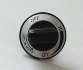Universal Plastic Control Knob | 00110