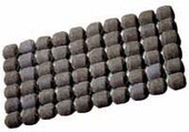 60-piece Replacement Briquette Shaped Ceramic Rock