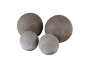 Real Fyre Geo Shapes Sphere, Slate