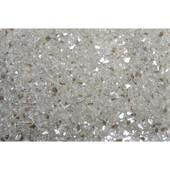 American Fireglass Platinum | 1/4-in Fire Glass | 1 lb