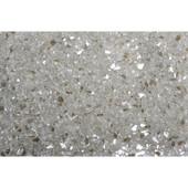 American Fireglass Platinum Reflective | 1/4-in Fire Glass | 10 lbs