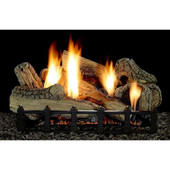 24-in WildWood Gas Log Set | Vent Free | Harmony Burner | Millivolt | LP