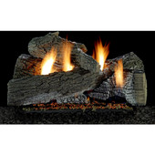 24-in Super WildWood Gas Log Set | Vent Free | Harmony Burner | Millivolt | NG