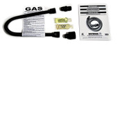 Gas Log Installation Kit