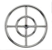 "18"" Double-Ring Firepit Burner"