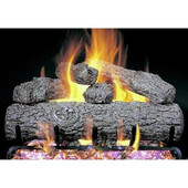 18-in Live Oak Vented Log Set | Match Light | NG