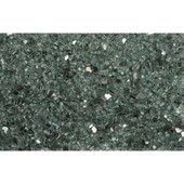 American Fireglass Evergreen Reflective | 1/4-in Fire Glass | 1 Lb