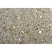 American Fireglass Gold Reflective | 1/4-in Fire Glass | 1 Lb