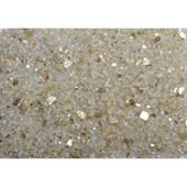 American Fireglass Gold Reflective | 1/4-in Fire Glass | 10 Lb
